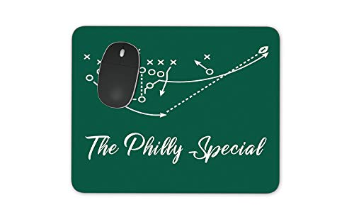 The Philly Special Mousepad - Philadelphia Eagles Football Themed Mouse Pad Super Bowl Champs Fly Eagle