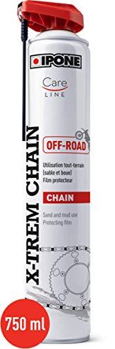 Ipone 800648 X-trem Chain Off-Road – Fórmula Antiadherente – Pulverizador de precisión sin Salpicaduras – 750 ml