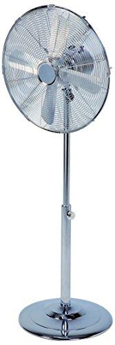 Domo DO8132 Ventilator Stand 40 cm Chrom, silberfarben