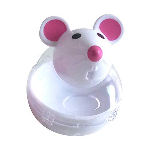 JDD Intelligenzspielzeug Für Katzen, Snackball Katze, Interaktiver Leckerli-Ball für Katzen, Erhöht Den IQ und Die Mentale Stimulation, Mausmodell Ist für Katzen Attraktiver.