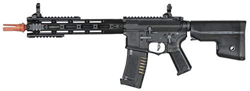 Amoeba Ares CG Series AM-009, 11.5' M4 AEG 6mm Airsoft Rifle w/MOSFET & Quick Spring Rel.