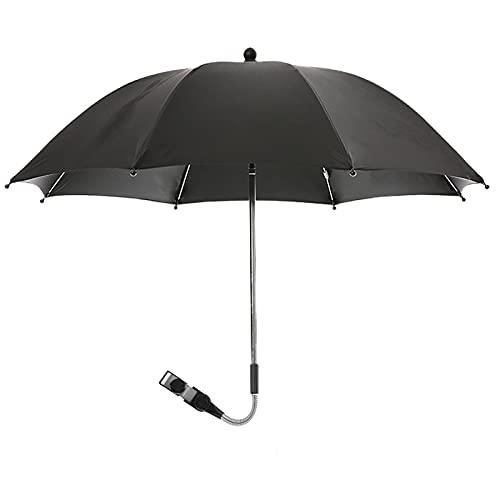 Souarts Parasol Umbrella for Pram 360° Adjustable Rotatable Universal...