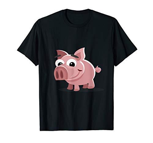 Hausschwein Schwein Schweinchen Ferkel Bauernhof Tiere Shirt T-Shirt