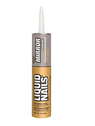 Liquid Nails LN-930 Mirror Adhesive (10-Ounce)