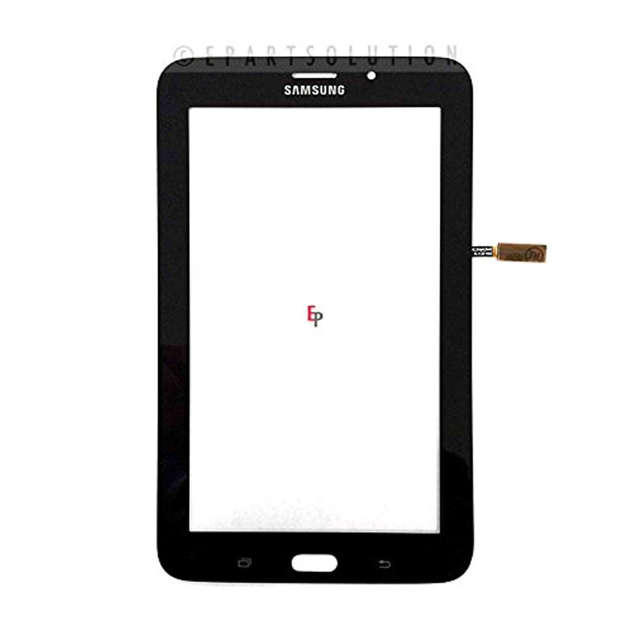 ePartSolution_Black Touch Screen Digitizer Panel Lens Glass for Samsung Galaxy Tab 3 Lite T116 Replacement Part USA Seller