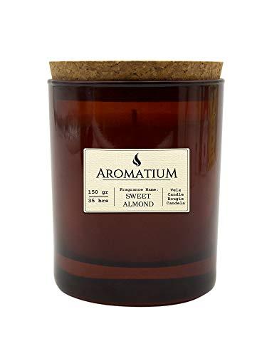 Velas Pinçart Vaso perfumado Aromatium-Botanical Essences. Peppermint & Lemon. Sweet Almond