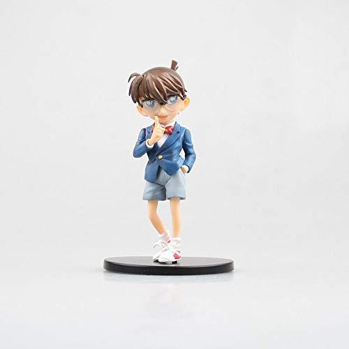 QHYZRV Detective Conan Shinichi Kudo PVC Material Cartoon-Zeichentrick-Box-Spielzeuggeschenk