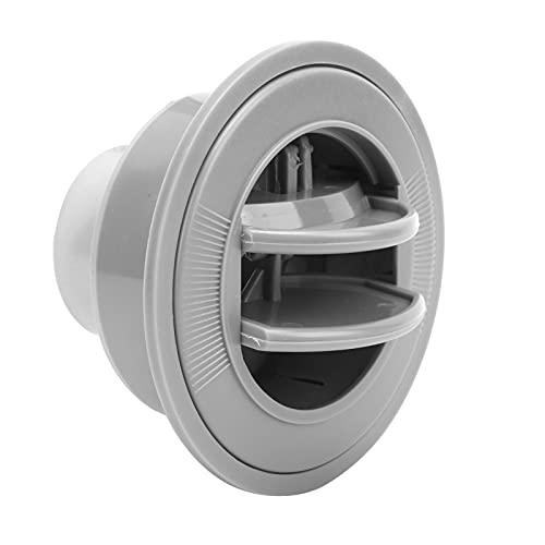 Salida de aire acondicionado, rejilla de escape de ventilación para salpicadero, gran fiabilidad, tamaño de tornillo M3, universal para autobús, coche, barco y rv