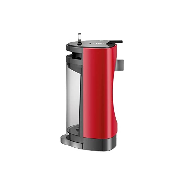 Krups OBLO Red Pod coffee machine 0.8L Gris, Rojo – Cafetera (Independiente,
