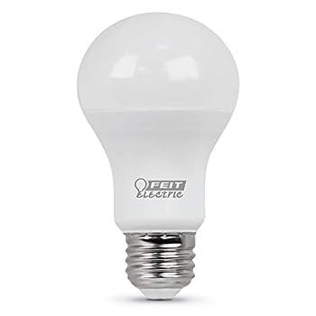 FEIT Electric A800/835/10KLED Non-Dimmable Led Bulb 60 W 120 Vac 800 Lumens 3500 K Cri >80 A19 4.2  H x 2.4  D 3500K Neutral White