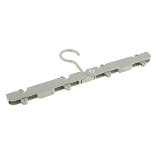 Homyl Mur de Pliage Cintre en Plastique Portable Vêtements de Rangement - Vert Clair, 16mm x 5.4mm x 15mm