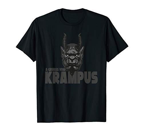 A Gruass vom Krampus - Grüße vom Krampus zu Weihnachten T-Shirt