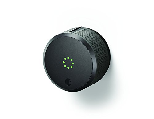 August Home AUG-SL-CON-G03 Dark Gray August Smart Lock Pro, 3rd Generation