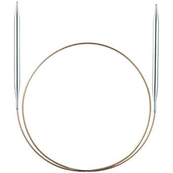 "Stainless Steel Circular Knitting Needles HiyaHiya 7.0mm x 150cm 60/"""