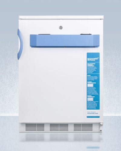 Summit Appliance VT65MLBIMED2 25C Built in Undercounter Medical & Scientific Capable Freezer with Front Control Panel Equipped