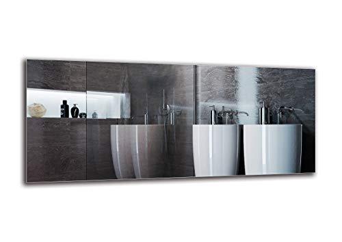 Specchio Standard - Specchio Senza Cornice - Dimensioni dello Specchio 140x60 cm - Specchio Bagno - Specchio a Muro - Bagno - Soggiorno - Cucina - Sala - M1ST-01-140x60 - ARTTOR