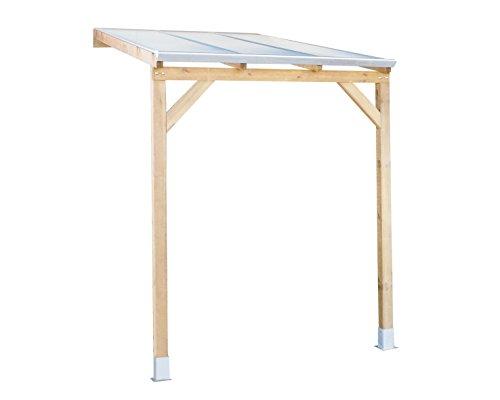 Palram Juniper Holz Terrassenüberdachung, Braun
