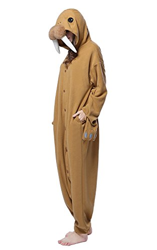 NEWCOSPLAY Halloween Cartoon Cosplay Costumes Adult Walrus Pajamas (M)