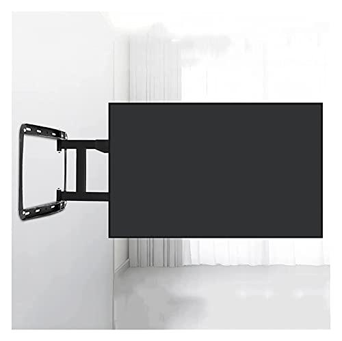 TabloKanvas 32'-75' montado en la Pared TELEVISOR Soporte de la extensión de Carga de Cuatro Brazos de Carga Rotación de inclinación TELEVISOR Soporte de Montaje en Pared Fijo (Color : Black)