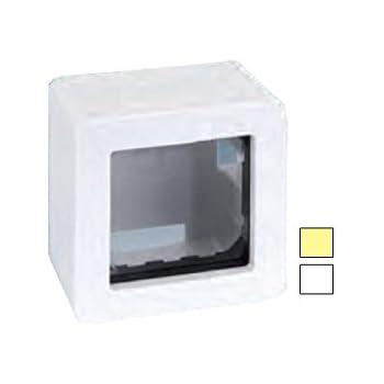 Simon - 27811-32 caja superficie 1a/2e s-27 marfil Ref. 6552731150: Amazon.es: Bricolaje y herramientas