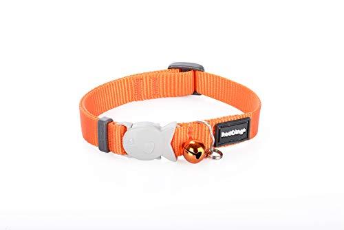 Red Dingo Einfarbiges Katzenhalsband, 12mm, Halsumfang 20-32cm