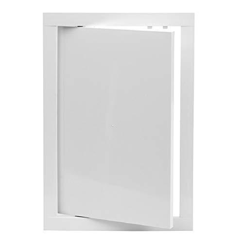 200x300 mm Revisionsklappe Weiß Revisionstür Wartungstür Inspektionsklappe aus Kunststoff 20x30 cm