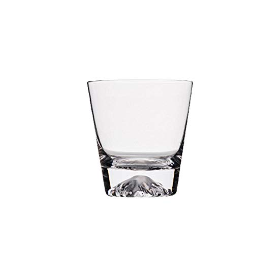 Crystal glass whiskey glass cocktail glass cold drink cup juice cup wine glass-Short cup 300ml