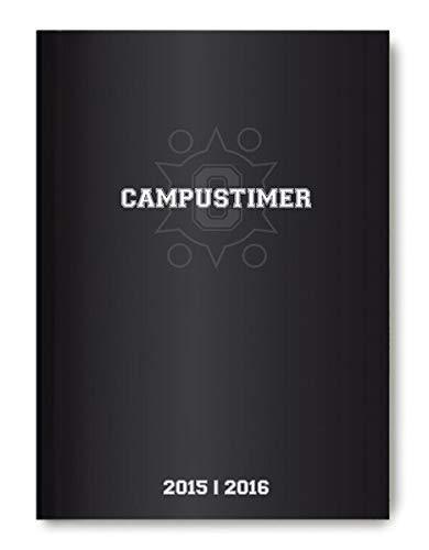 Campustimer Black - A6 Semesterplaner - Studentenkalender 2015/2016