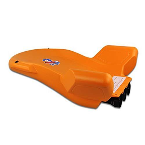 Wasser Elektro Skateboard, Schwimmhilfen, Adult Floating Row, Verbesserter Schwimmring, Surfboard,Orange