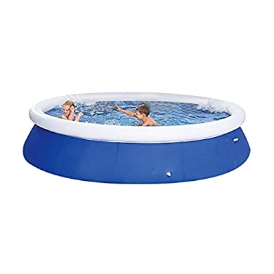 Studio 21 Graphix ?Free Expedited Delivery? Large Swimming Pool for Whole Family, Easy Setting Full-Size Inflatable Above Ground Pool, for Summer Water Party Outdoor Backyard Garden (Large(8'))