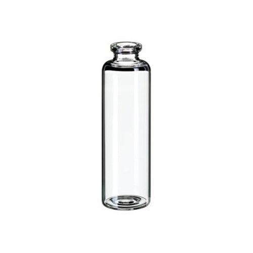 neolab 7–0799Heads Pace botellas, ND20, cristal transparente, 54.5mm x 20mm, fondo plano, 10ml (100unidades)