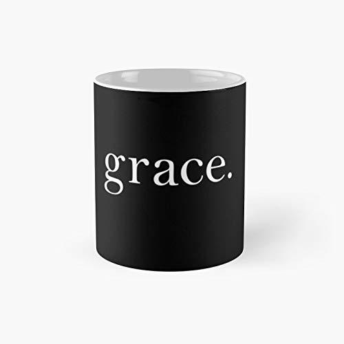 Grace Classic Mug Best Gift Funny Coffee Tazas de café 11 oz