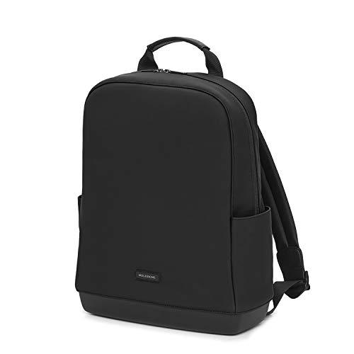 [モレスキン] リュック 15インチPC収納可能 ビジネスリュック バックパックコレクション ソフトタッチPU ブラック
