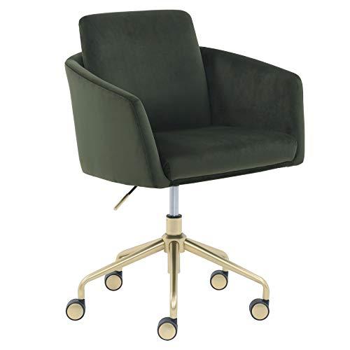 Rivet Bertha Mid-Century Swivel Office Chair