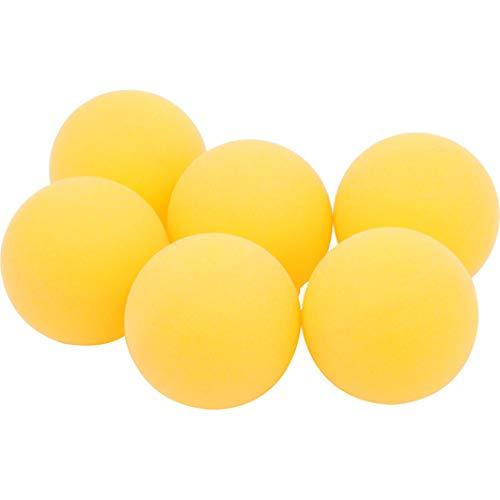 Jean Palline Palle da Ping Pong Professionali Arancioni, Set di Palline da Tennis Tavolo Professionali K40 + Ideali per Partite di Allenamento all'aperto per Bambini per Adulti (Confezione da 6)