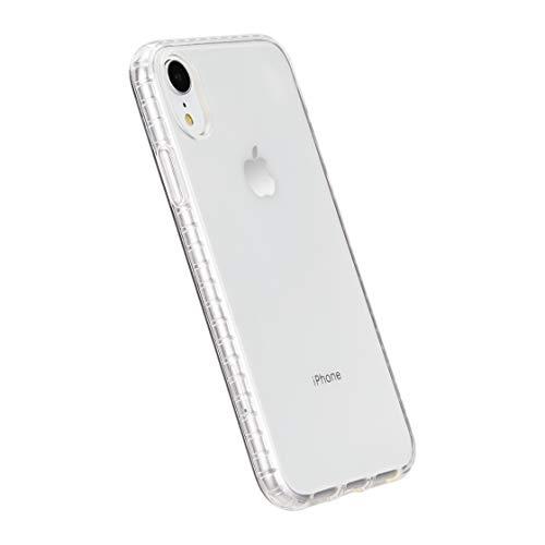 Amazon Basics - Cover per iPhone XR, in TPU (trasparente), modello trasparente, protettivo e antigraffio