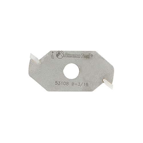 Amana Tool - 53108 Slotting Cutter 2 Wing x 1-7/8 Dia x 3/16 x 5/16 Inner Dia