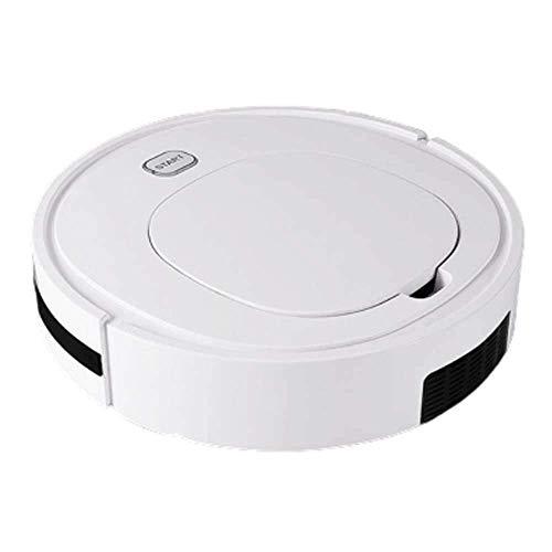 Robot de Barrido Automanaacute; Tico, Maacute; Quina de Carga y Limpieza Domeacute; Stica Perezosa, Aspiradora Inteligente (Color: Blanco) (Color: Blanco) Kshu (Color: Blanco) WTZ012 (Color : White)