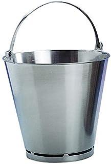 Mallard Ferriere - Seau Avec Pied Inox 20 L