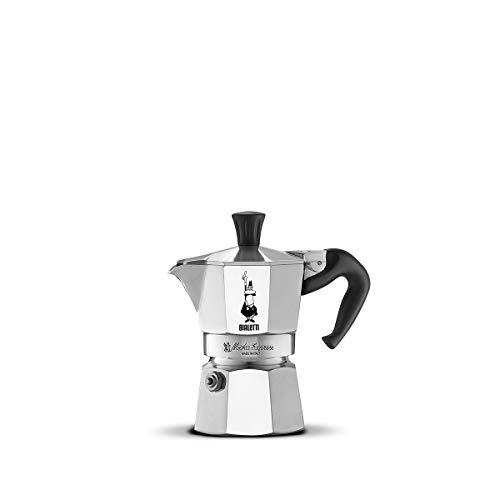 Bialetti Moka Express Aluminium Stovetop Coffee Maker (2 Cup)