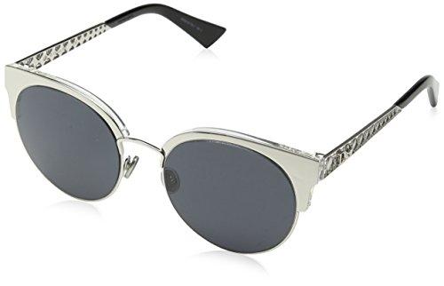 Dior Women's Dioramamini Ir Sunglasses, Palladium, 50