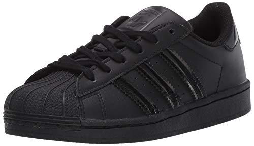 Adidas - Originals Superstar, scarpe da ginnastica da bambino, (Nero Core Nero Core Core Nero Core Nero Core Nero Core Core Nero Core Nero), 34 EU