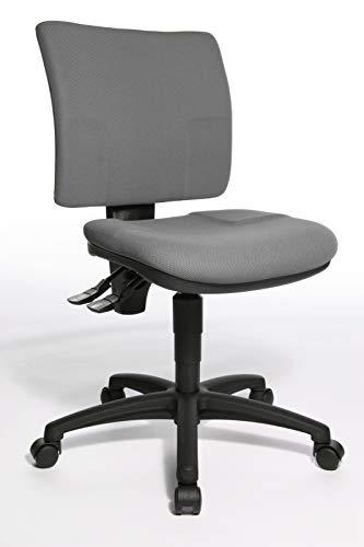 Topstar Bürostuhl U 50 mit Hartbodenrollen - dunkelgrau