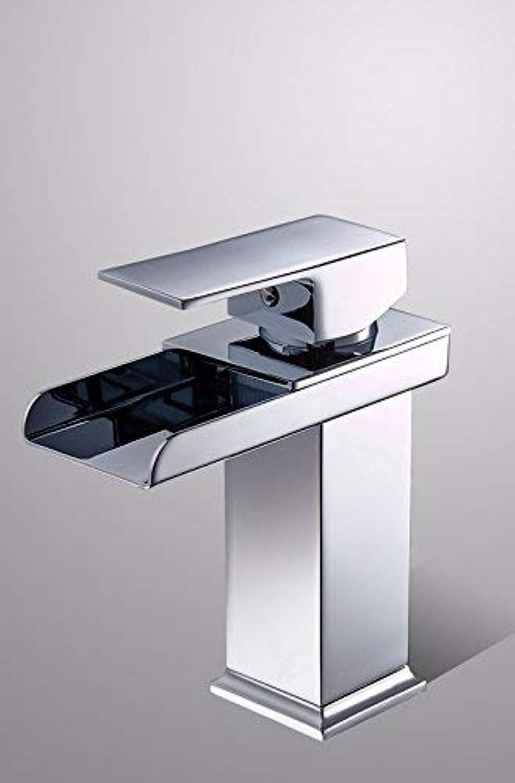 Oudan Full Copper Washbasin Hot And Cold Single Hole Bathroom European Style Single Handle Sink Faucet