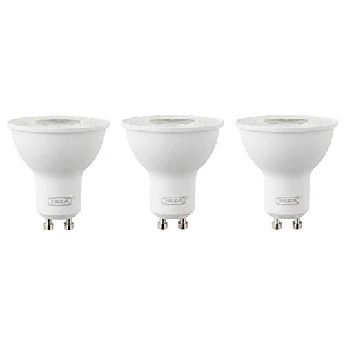 IKEA RYET GU10 400 Lumen LED-Leuchtmittel, 3 Stück