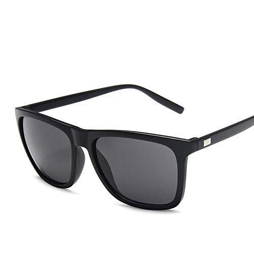 Sunglasses Gafas de Sol de Moda Gafas De Sol Cuadradas De Moda para Hombre, Diseño De Pesca, Conducción,Gafas De Sol