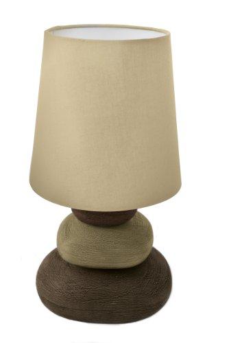 Naeve Leuchten Stoff-Tischleuchte, 1x E14 exklusive Leuchtmittel 3045227