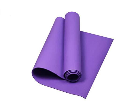 N-B Estera de Yoga Manta Antideslizante para Perder Peso Estera de Fitness Femenino Estera de Yoga súper Gruesa antidesgarro Estera de Yoga Multifuncional de Alta Densidad Correa de cinturón de Yoga