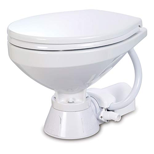 Jabsco 37010-4092 Electric Marine Toilet Regular Bowl 12 Volt Boating Head