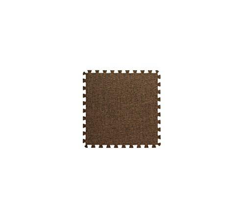 CNTJMJY Baby Puzzle Play Mat 20 Pieces Interlocking Foam Floor Mat Cotton And Linen Bedroom Stitching Carpet Kids Climbing Mat Foam Jigsaws Play Mat Crawling Waterproof Floor Tiles